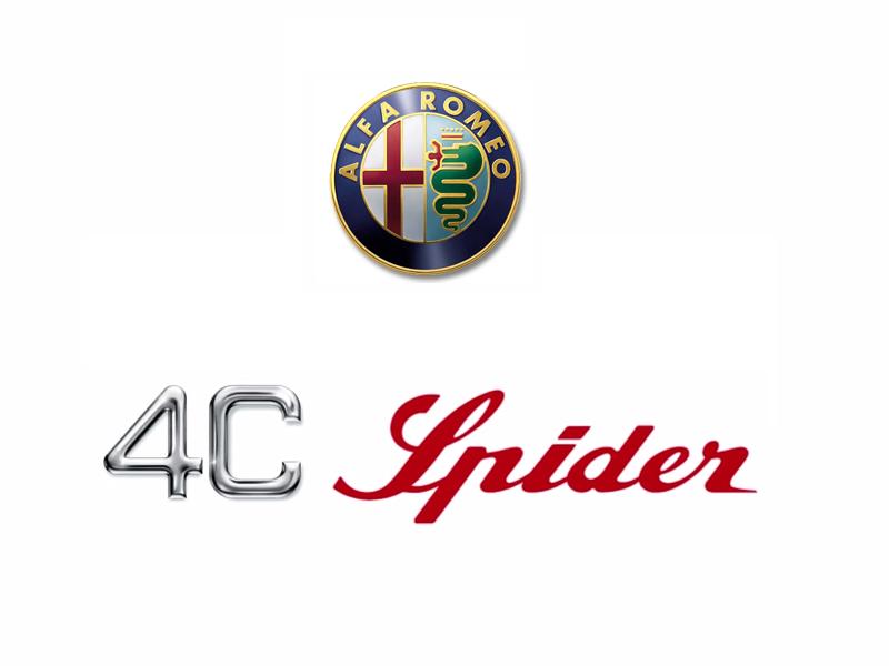 Alfa Romeo 4C Spider Logo
